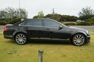2007 Holden Special Vehicles Grange WM Black 6 Speed Auto Active Sequential Sedan