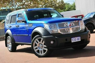 2009 Dodge Nitro KA MY08 SX Blue 4 Speed Automatic Wagon.