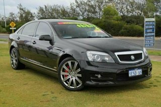 2007 Holden Special Vehicles Grange WM Black 6 Speed Auto Active Sequential Sedan.