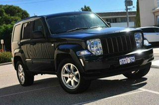 2008 Jeep Cherokee KK Sport (4x4) Black 4 Speed Automatic Wagon.