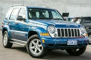 2005 Jeep Cherokee KJ MY2005 Limited Blue 4 Speed Automatic Wagon.