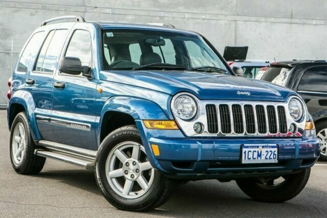 Used Jeep Cherokee KJ MY2005 Limited Albion, 2005 Jeep Cherokee KJ MY2005 Limited Blue 4 Speed Automatic Wagon