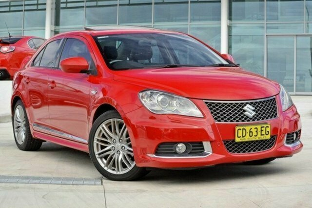 Used Suzuki Kizashi FR Sport AWD, 2010 Suzuki Kizashi FR Sport AWD Red 6 Speed Constant Variable Sedan