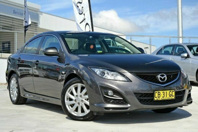 Used Mazda 6 GJ1031 Touring SKYACTIV-Drive, 2012 Mazda 6 GJ1031 Touring SKYACTIV-Drive Grey 6 Speed Sports Automatic Sedan