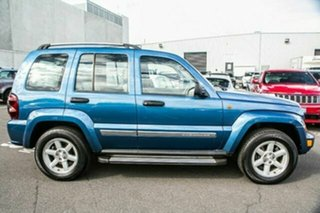 2005 Jeep Cherokee KJ MY2005 Limited Blue 4 Speed Automatic Wagon