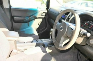 2005 Nissan Navara D40 RX Storm Grey 5 Speed Automatic Utility