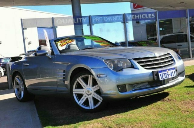 Used Chrysler Crossfire ZH MY2004 Albion, 2004 Chrysler Crossfire ZH MY2004 Blue 5 Speed Sports Automatic Coupe