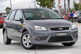2008 Ford Focus LT Ghia Grey 4 Speed Sports Automatic Hatchback.