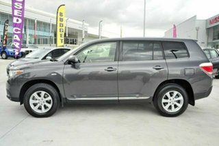 2012 Toyota Kluger GSU40R MY12 KX-R 2WD Graphite 5 Speed Sports Automatic Wagon