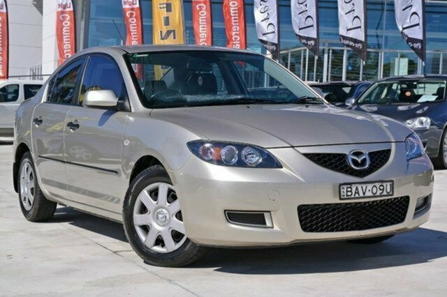 Used Mazda 3 BK10F1 Neo Albion, 2006 Mazda 3 BK10F1 Neo Gold 4 Speed Sports Automatic Sedan
