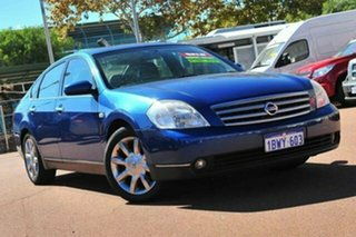 2004 Nissan Maxima J31 TI Blue 4 Speed Automatic Sedan.
