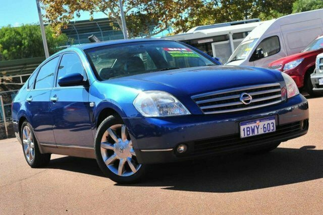 Used Nissan Maxima J31 TI Albion, 2004 Nissan Maxima J31 TI Blue 4 Speed Automatic Sedan