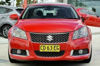 2010 Suzuki Kizashi FR Sport AWD Red 6 Speed Constant Variable Sedan