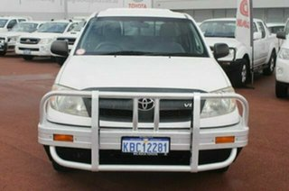 2007 Toyota Hilux GGN15R MY07 SR Xtra Cab 4x2 White 5 Speed Automatic Utility