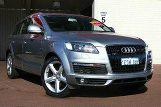 2009 Audi Q7 MY09 TDI Quattro Quartz Grey 6 Speed Sports Automatic Wagon.