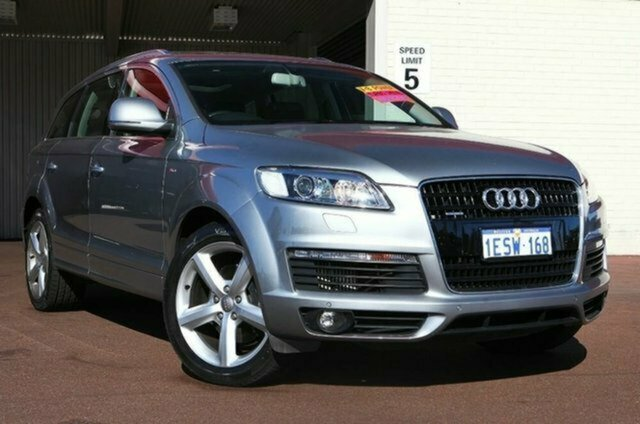 Used Audi Q7 MY09 TDI Quattro, 2009 Audi Q7 MY09 TDI Quattro Quartz Grey 6 Speed Sports Automatic Wagon