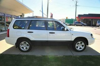 2004 Subaru Forester MY04 X White 4 Speed Automatic Wagon