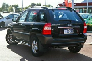 2007 Kia Sportage KM EX (4x4) Black 4 Speed Tiptronic Wagon