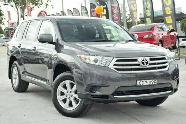Used Toyota Kluger GSU40R MY12 KX-R 2WD, 2012 Toyota Kluger GSU40R MY12 KX-R 2WD Graphite 5 Speed Sports Automatic Wagon