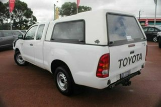 2007 Toyota Hilux GGN15R MY07 SR Xtra Cab 4x2 White 5 Speed Automatic Utility.