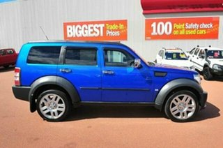 2009 Dodge Nitro KA MY08 SX Blue 4 Speed Automatic Wagon