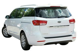 2015 Kia Carnival YP MY15 S Clear White 6 Speed Automatic Wagon
