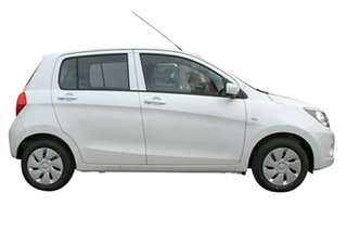2015 Suzuki Celerio LF Snow White Continuous Variable Hatchback