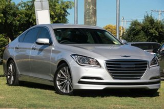2015 Hyundai Genesis DH Platinum Silver 8 Speed Automatic Sedan.