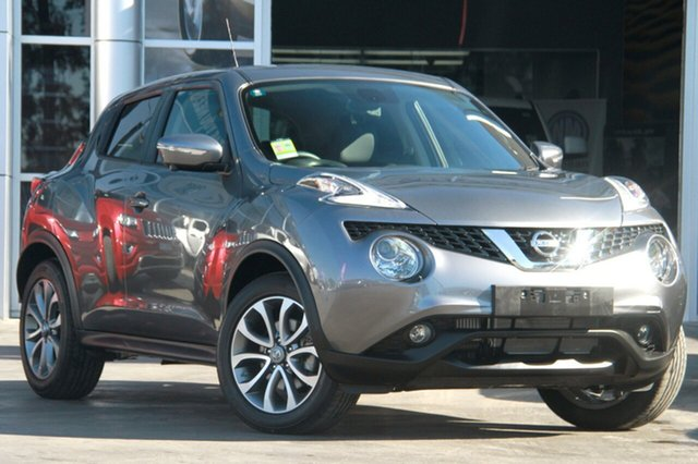 New Nissan Juke F15 Series 2 Ti-S X-tronic AWD, 2018 Nissan Juke F15 Series 2 Ti-S X-tronic AWD Gun Metallic 1 Speed Constant Variable Hatchback