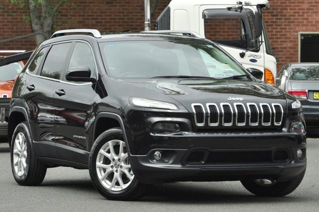 New Jeep Cherokee KL MY17 Longitude, 2017 Jeep Cherokee KL MY17 Longitude Diamond Black Crystal 9 Speed Sports Automatic Wagon