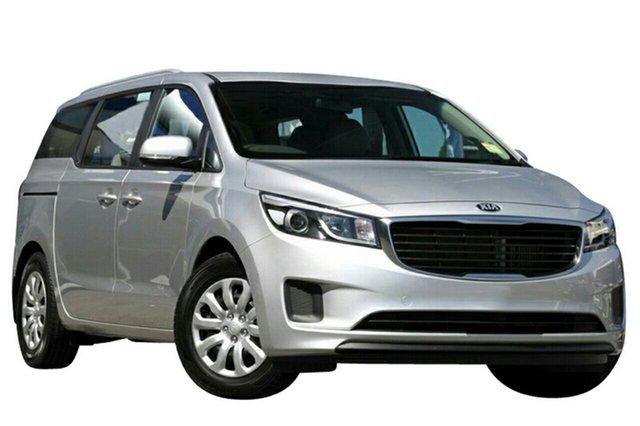 New Kia Carnival YP MY20 S, 2019 Kia Carnival YP MY20 S Silky Silver 8 Speed Sports Automatic Wagon
