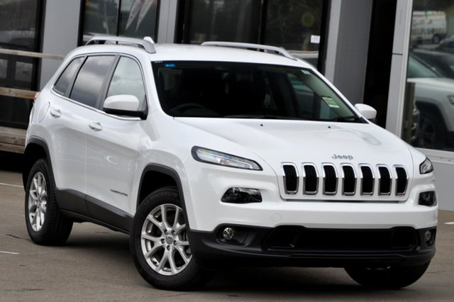 New Jeep Cherokee KL MY17 Longitude, 2017 Jeep Cherokee KL MY17 Longitude Bright White 9 Speed Sports Automatic Wagon