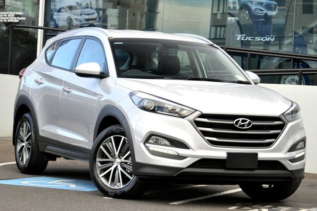 Demo Hyundai Tucson TL MY18 Active X 2WD Albion, 2017 Hyundai Tucson TL MY18 Active X 2WD Platinum Silver 6 Speed Sports Automatic Wagon