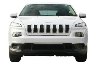 2017 Jeep Cherokee KL MY17 Sport Bright White 9 Speed Sports Automatic Wagon