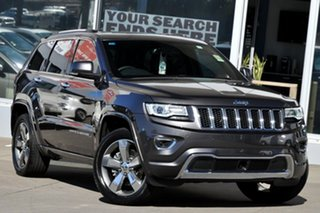 2015 Jeep Grand Cherokee WK MY15 Overland (4x4) Maximum Steel 8 Speed Automatic Wagon.