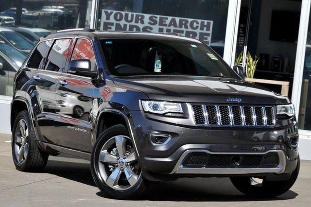 New Jeep Grand Cherokee WK MY15 Overland (4x4), 2015 Jeep Grand Cherokee WK MY15 Overland (4x4) Maximum Steel 8 Speed Automatic Wagon