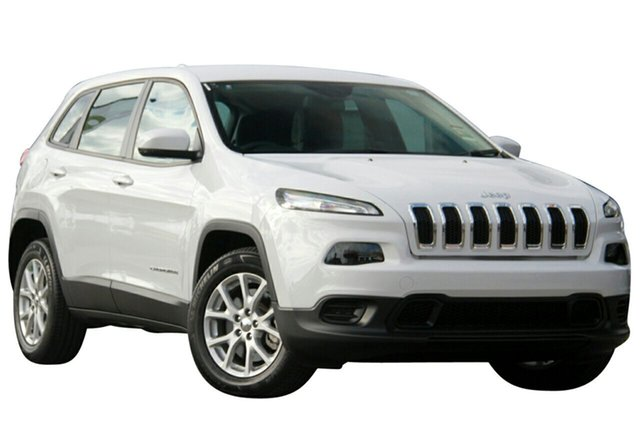 New Jeep Cherokee KL MY17 Sport, 2017 Jeep Cherokee KL MY17 Sport Bright White 9 Speed Sports Automatic Wagon