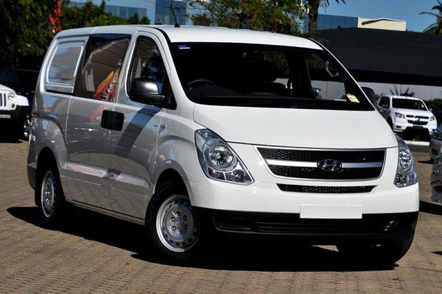 New Hyundai iLOAD TQ MY15 Crew Albion, 2015 Hyundai iLOAD TQ MY15 Crew Creamy White 5 Speed Automatic Van
