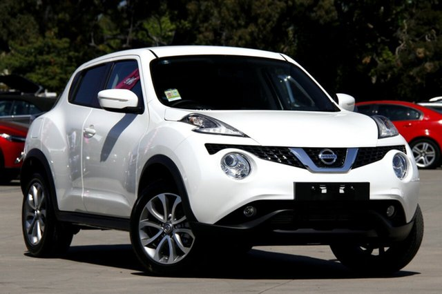 New Nissan Juke F15 Series 2 ST 2WD, 2017 Nissan Juke F15 Series 2 ST 2WD Snow Storm 6 Speed Manual Hatchback