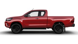 2016 Toyota Hilux GUN126R SR (4x4) Olympia Red 6 Speed Manual X Cab Utility