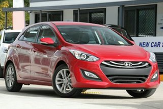 2014 Hyundai i30 GD MY14 Trophy Brilliant Red 6 Speed Automatic Hatchback.