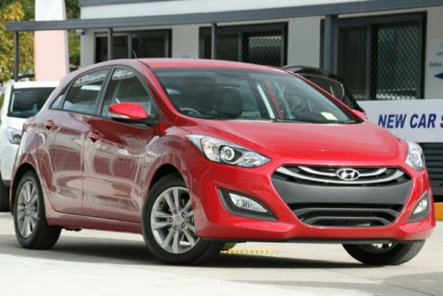 New Hyundai i30 GD MY14 Trophy, 2014 Hyundai i30 GD MY14 Trophy Brilliant Red 6 Speed Automatic Hatchback