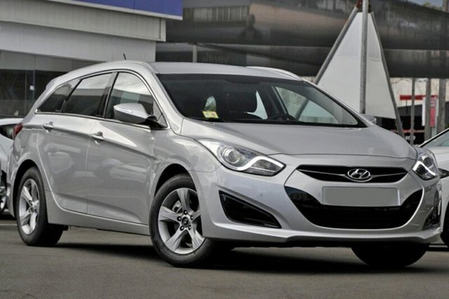 Demo Hyundai i40 VF 2 Upgrade Active, 2014 Hyundai i40 VF 2 Upgrade Active Sleek Silver 6 Speed Automatic Wagon