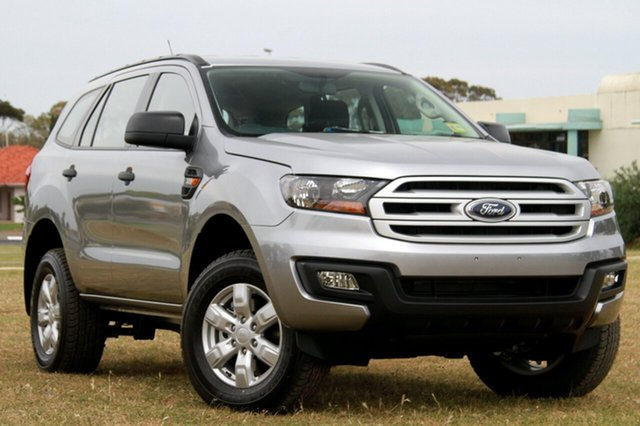 New Ford Everest UA Ambiente 4WD, 2017 Ford Everest UA Ambiente 4WD Aluminium 6 Speed Sports Automatic Wagon