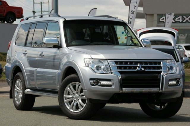 New Mitsubishi Pajero NX MY21 GLX Gladstone, 2021 Mitsubishi Pajero NX MY21 GLX Sterling Silver 5 Speed Sports Automatic Wagon