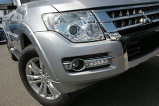 2021 Mitsubishi Pajero NX MY21 GLX Sterling Silver 5 Speed Sports Automatic Wagon.
