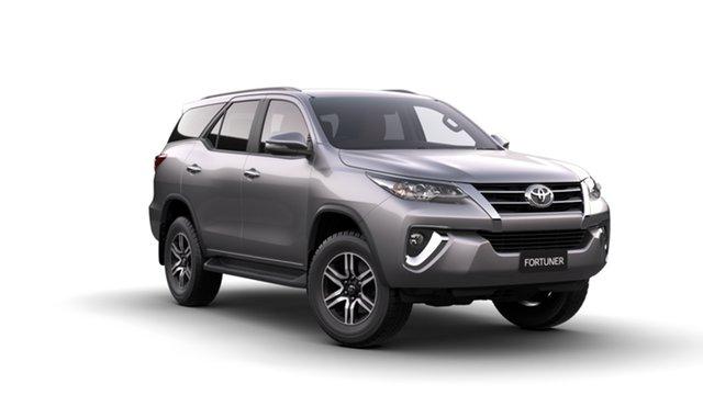 New Toyota Fortuner GUN156R GXL, 2019 Toyota Fortuner GUN156R GXL Silver Sky 6 Speed Automatic Wagon