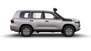 2020 Toyota Landcruiser VDJ200R GX Glacier White 6 Speed Sports Automatic Wagon.