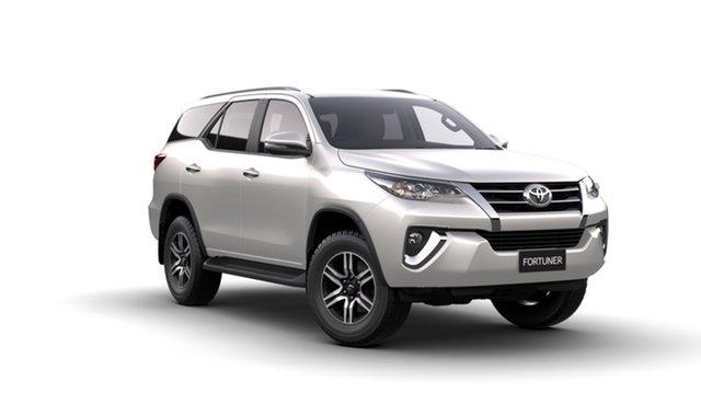New Toyota Fortuner GUN156R GXL, 2018 Toyota Fortuner GUN156R GXL Crystal Pearl 6 Speed Automatic Wagon