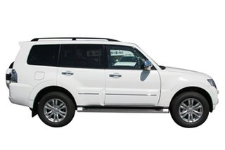 2019 Mitsubishi Pajero NX MY19 Exceed Warm White 5 Speed Sports Automatic Wagon